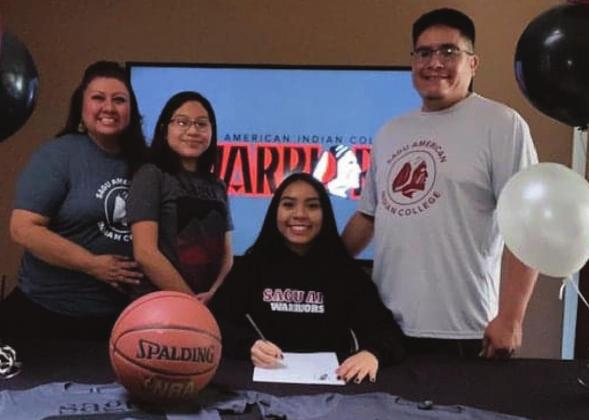 Lady Hawks sending four to next level